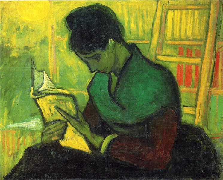 The Novel Reader, 1888 - Vincent van Gogh
