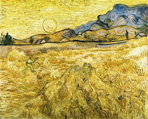 The Reaper - Vincent van Gogh