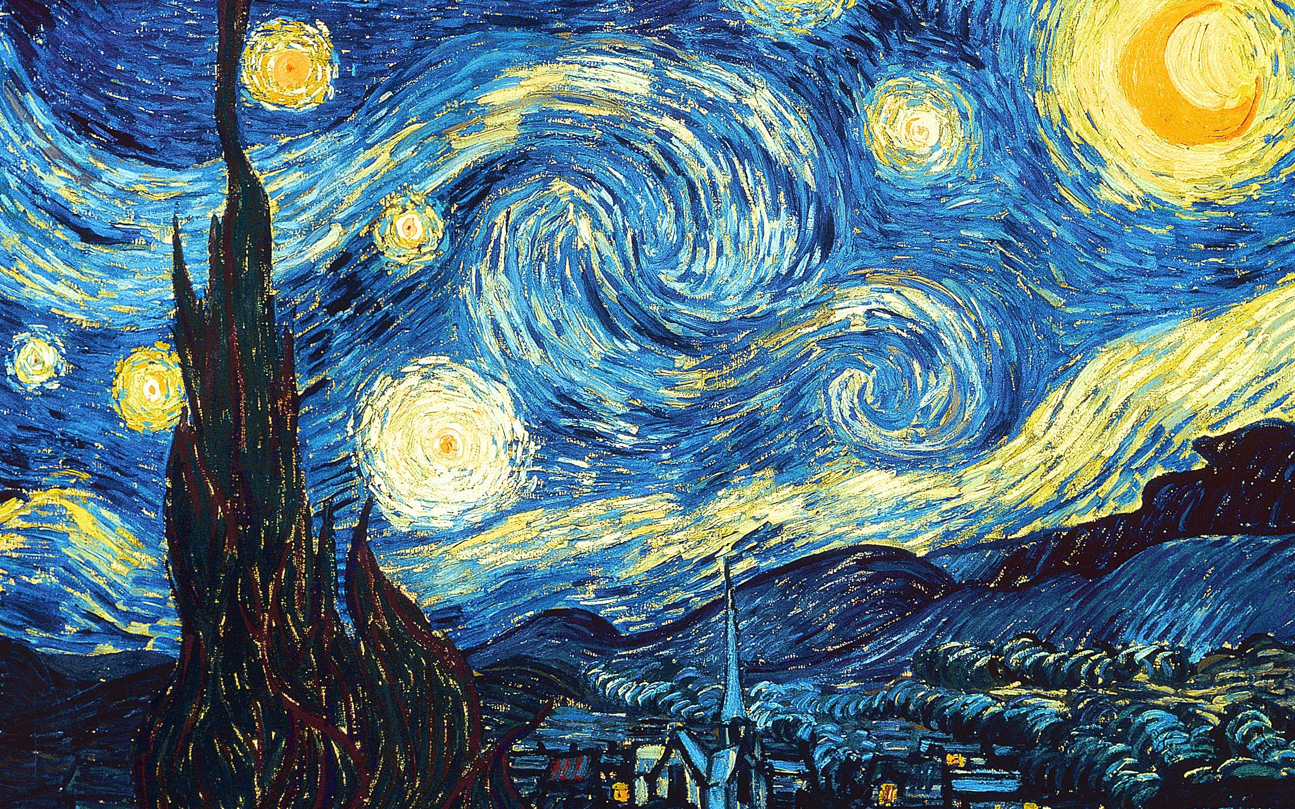 the-starry-night-1889(1) 7 claves para desarrollar una GRAN historia a partir una pequeña idea