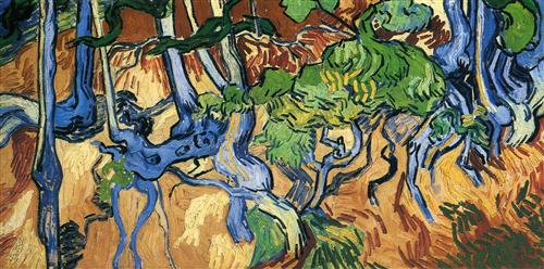 Tree roots - Vincent van Gogh