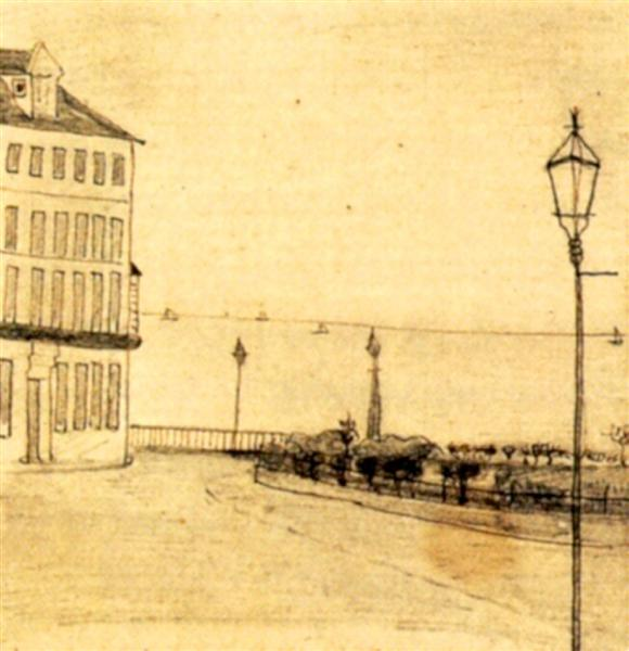 View of Royal Road, Ramsgate, 1876 - Винсент Ван Гог