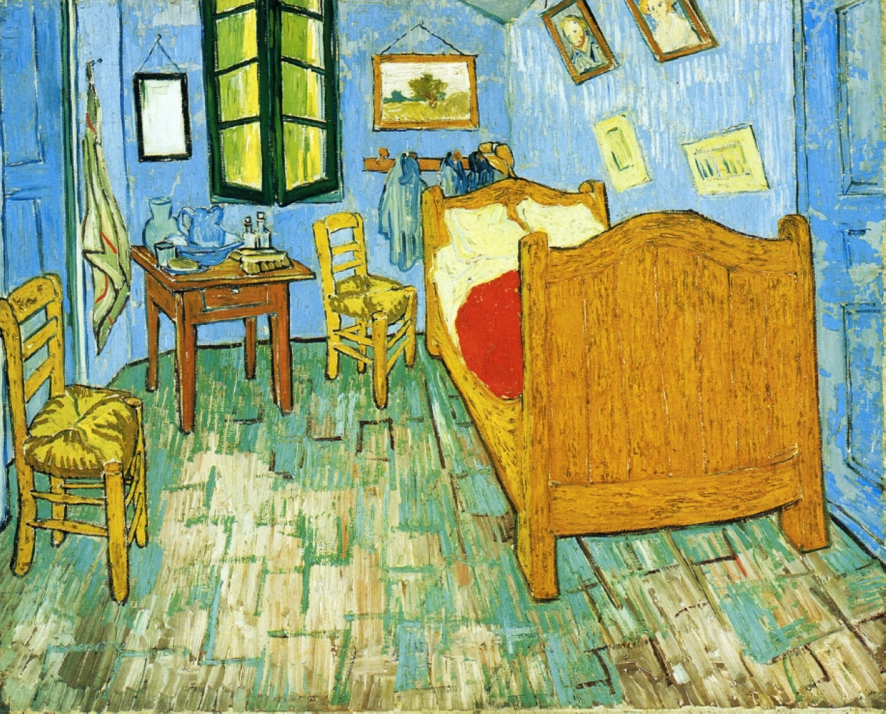 "Is the Bed From Vincent Van Gogh's ""The Bedroom"" Stowed Away in a Dutch Attic?"