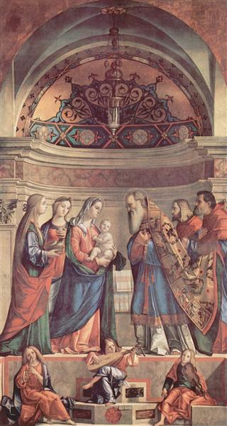 Presentation in the Temple, 1510 - Vittore Carpaccio