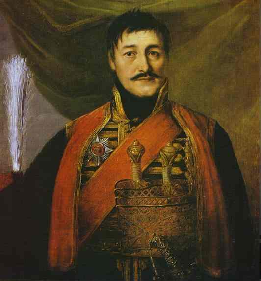 Portrait of Karadjordge, 1816 - Vladimir Borovikovsky