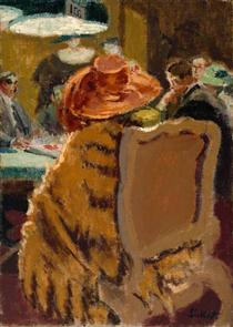 Baccarat - the Fur Cape - Walter Sickert
