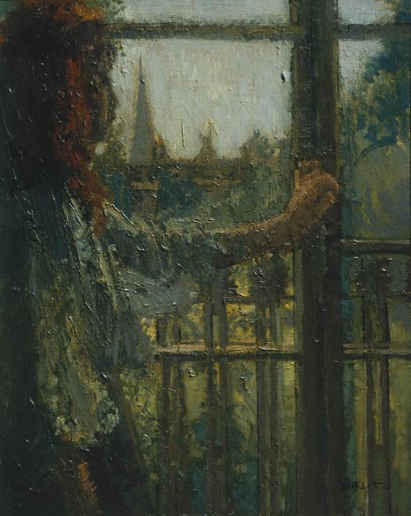 Girl at a Window, Little Rachel, 1907