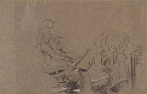 Study for `The Little Tea Party', 1915-1916