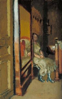 The wardrobe - Walter Sickert