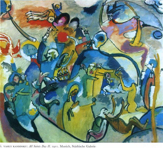 All Saints day II, 1911 - Wassily Kandinsky