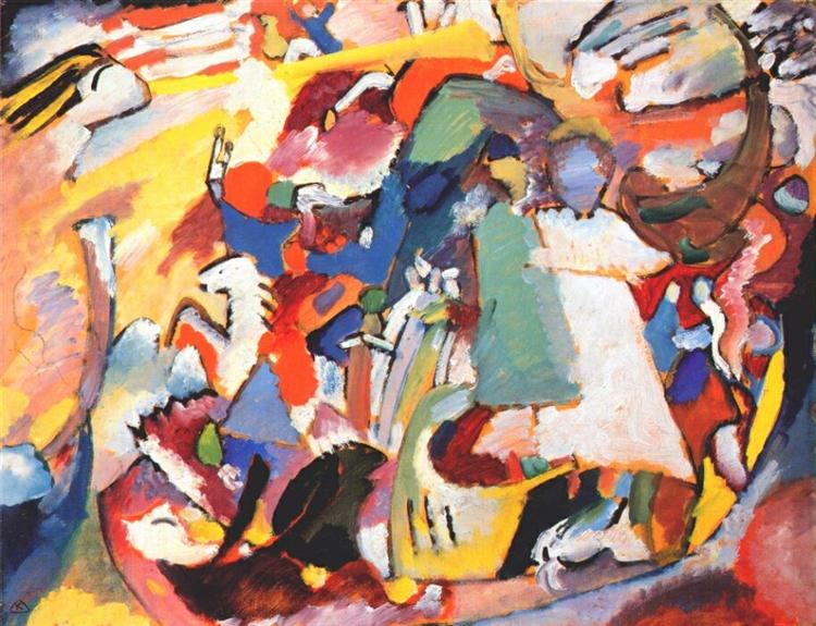 Angel of the Last Judgment, 1911 - Wassily Kandinsky
