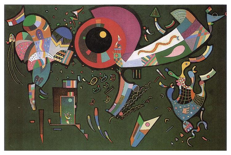 Around the circle, 1940 - Wassily Kandinsky