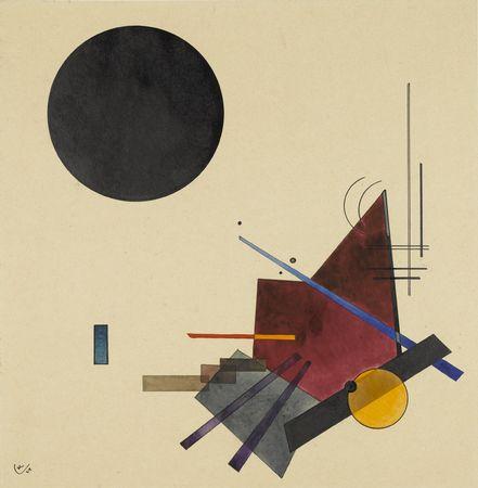 Black Relationship, 1924 - Wassily Kandinsky