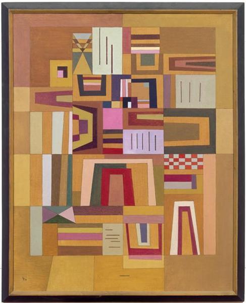 Compensation rose, 1933 - Wassily Kandinsky