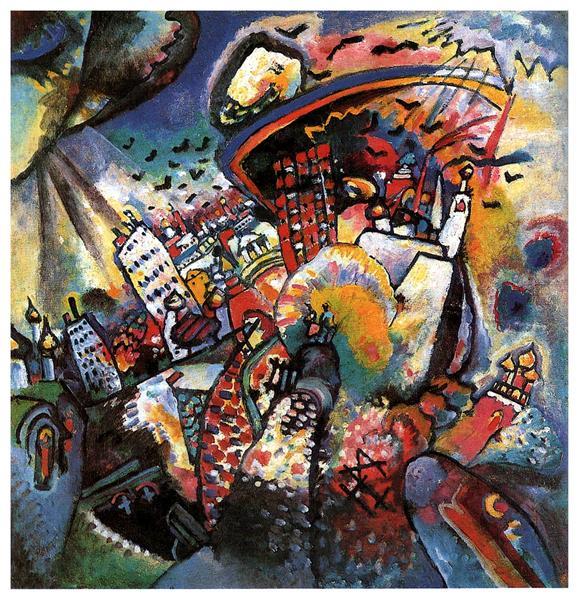 Moscow I - Wassily Kandinsky