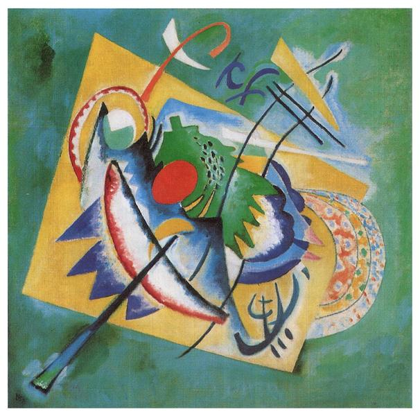 Red Oval, 1920 - Wassily Kandinsky