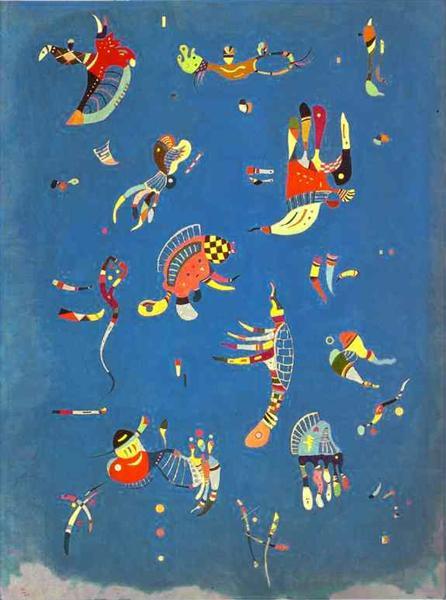 Sky Blue, 1940 - Wassily Kandinsky