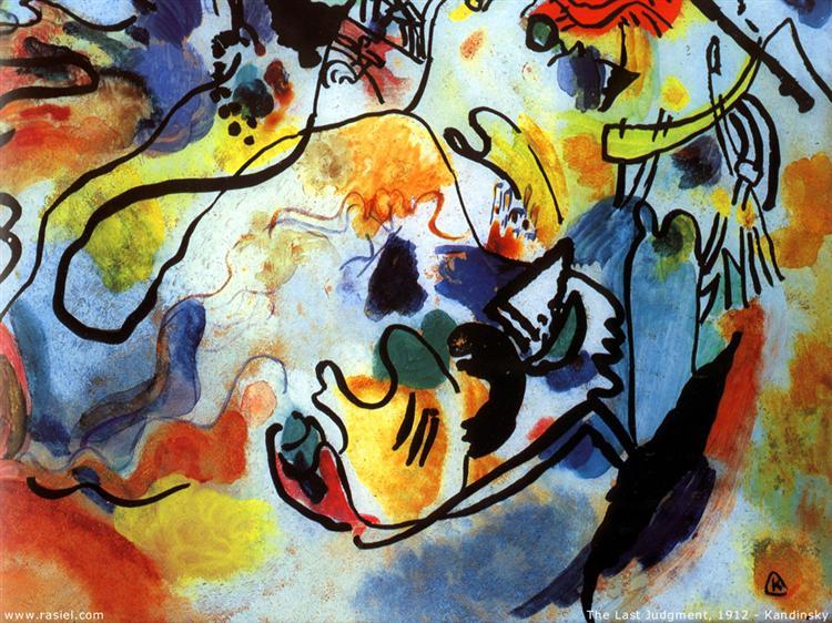 The last judgment, 1912 - Wassily Kandinsky