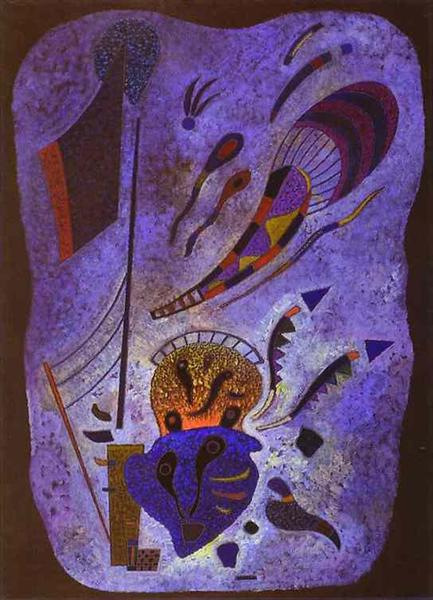 Twilight, 1943 - Wassily Kandinsky