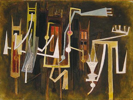 Horizons chauds, c.1968 - Wifredo Lam