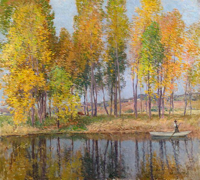 Autumn Festival, 1915 - Willard Metcalf