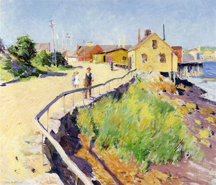 Inner Harbour, Gloucester, 1895 - Willard Metcalf