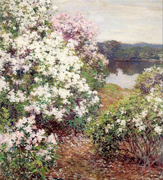Mountain Laurel, 1905 - Willard Metcalf