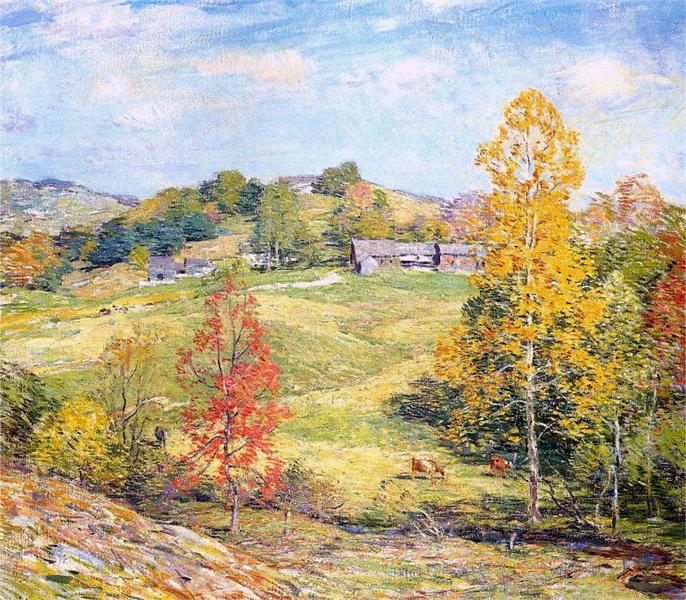 Sillon, 1911 - Willard Leroy Metcalf