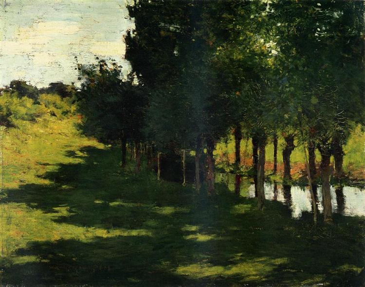 Sunlight and Shadow, 1888 - Willard Metcalf