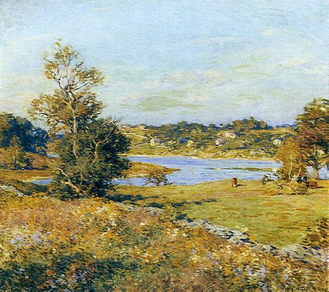 The Breath of Autumn (Waterford, Connecticut), 1915 - Willard Metcalf