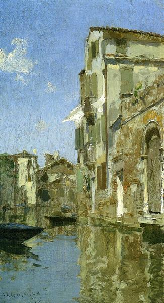 Venice, 1887 - Willard Metcalf
