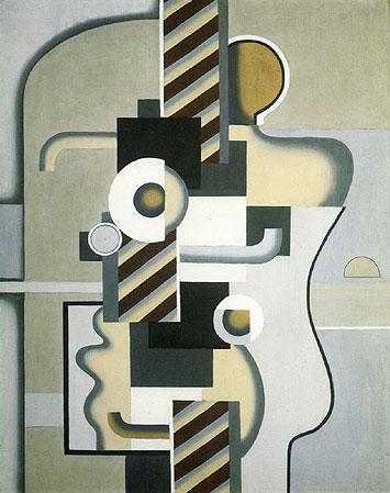 Machine Man with Spiral Turn, 1930 - Willi Baumeister