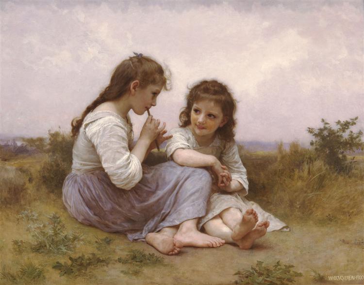 Idylle enfantine, 1900 - William Bouguereau