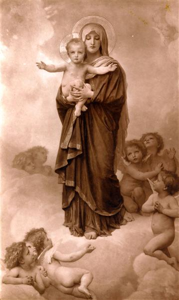 Our Lady of the Angels - William-Adolphe Bouguereau