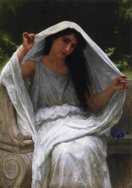 The Veil, 1898 - William-Adolphe Bouguereau