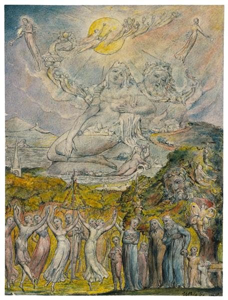 A Sunshine Holiday, 1816 - 1820 - William Blake