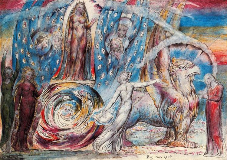 Beatrice, 1824 - William Blake