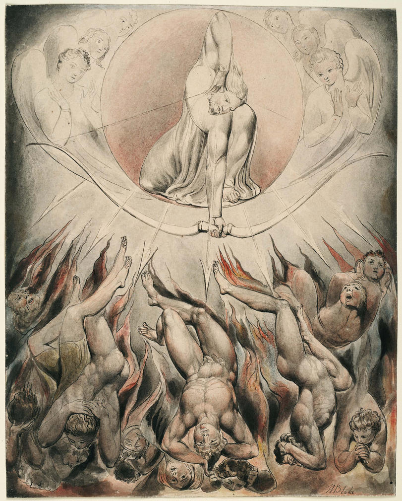 william blake style William blake (british, 1757-1827) as opposed to a renaissance style tough question, but a good one for blake, the bible was truly the most important and always-relevant the great red dragon and the woman clothed with the sun (rev 12.