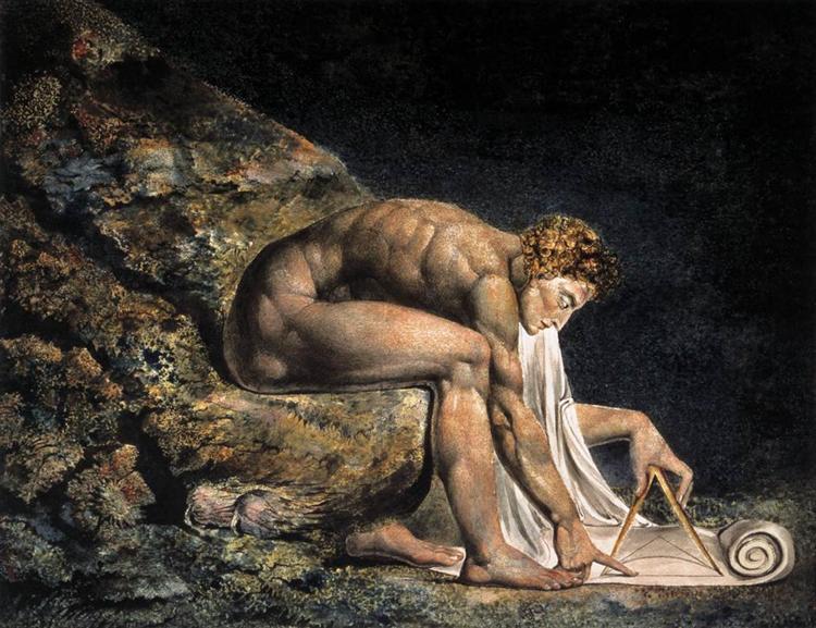 Isaac Newton, 1795 - William Blake
