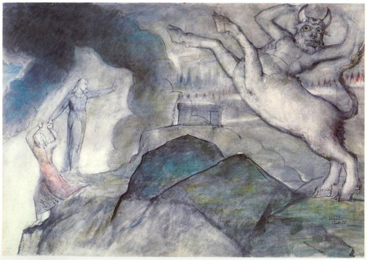 Minotaur - William Blake