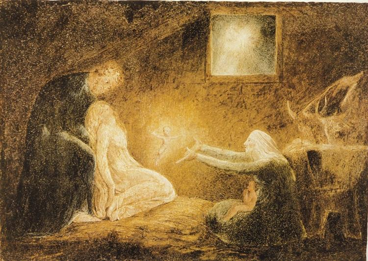 The Nativity, 1790 - 1800 - William Blake