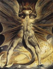 The Red Dragon and the Woman Clothed with the Sun - William Blake