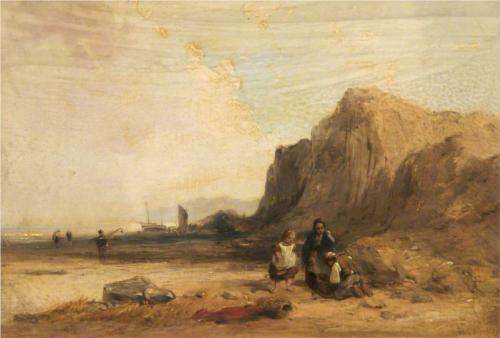Coast Scene  - William Collins