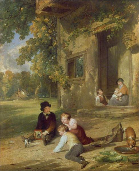 The Kitten Deceived, 1816 - William Collins