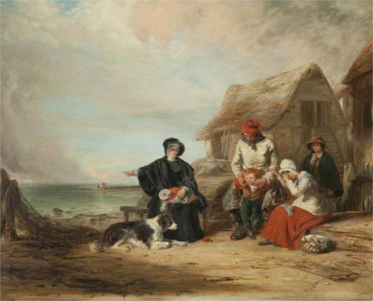 The Mariner's Widow, 1835 - Уильям Коллинз