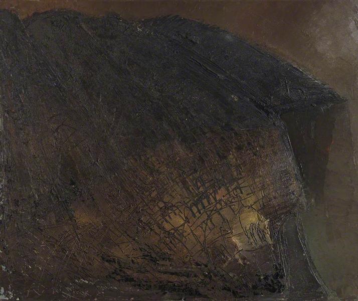 Positano No.6 (Night), 1956 - William Congdon