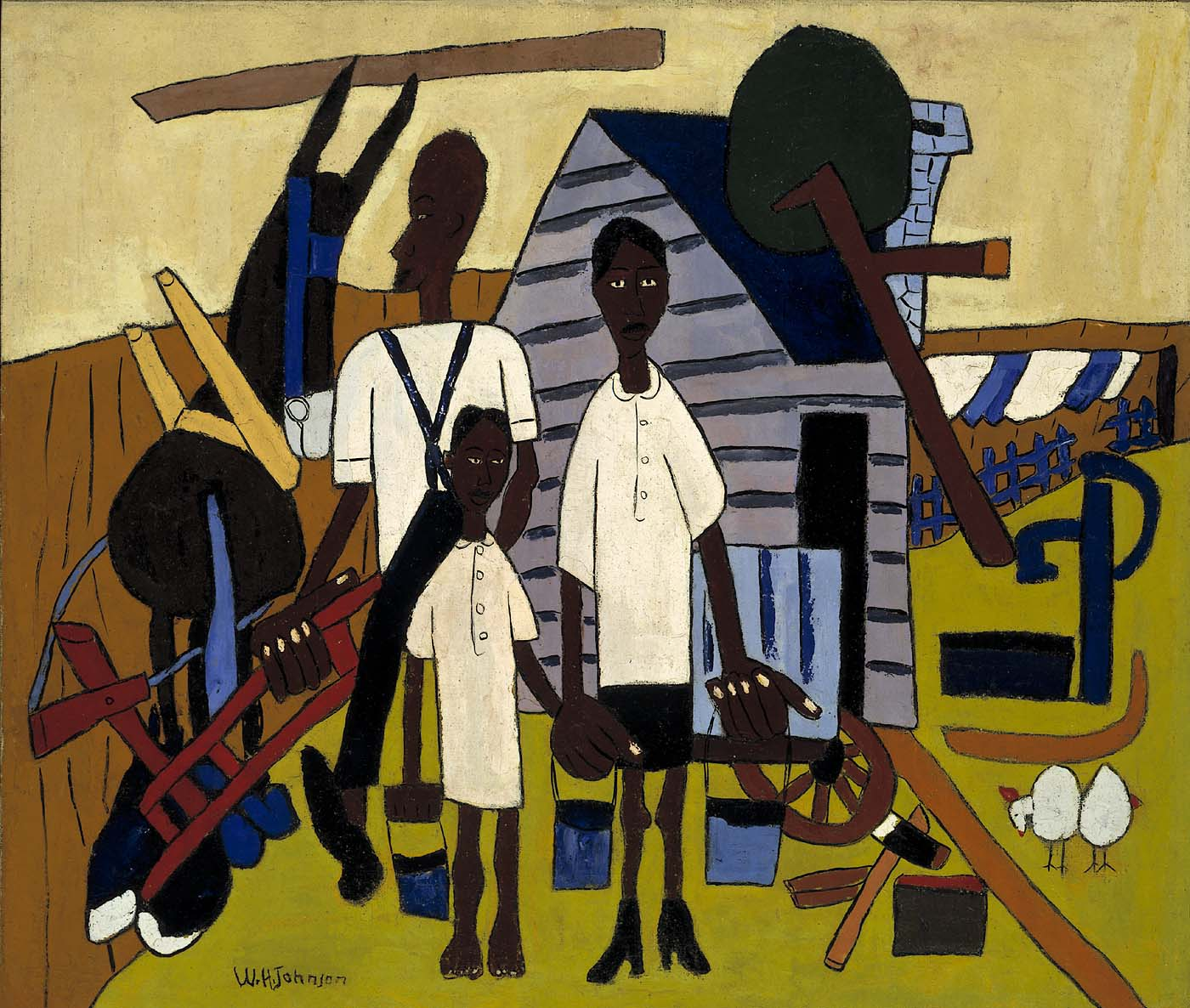 William H Johnson Most Famous Paintings