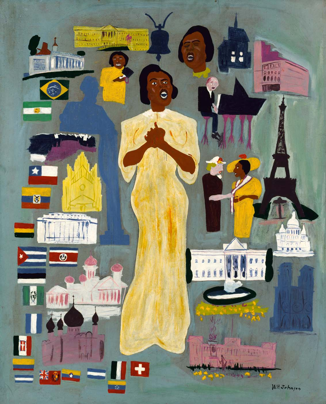 1000+ images about William H. Johnson on Pinterest ...