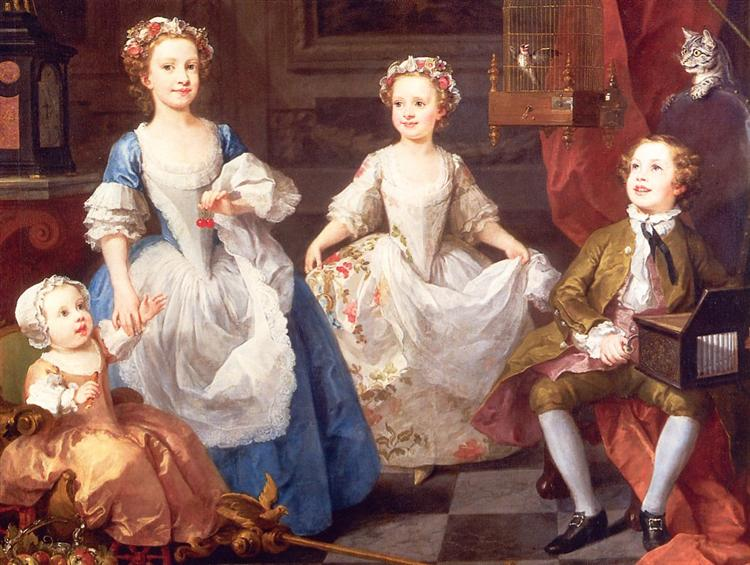 The Graham Children, 1742 - William Hogarth