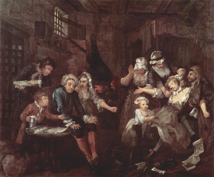 The prison, 1732 - 1735 - William Hogarth