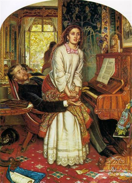 The Awakening Conscience, 1853 - William Holman Hunt